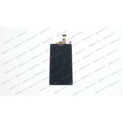 Модуль матрица + тачскрин для Sony Xperia ZL C6503, black