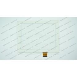 Тачскрин (сенсорное стекло) для Teclast P88, RAECE F0268 XDY, 8, внешний размер 197*148мм, рабочая часть 162*122мм, 40 pin, белый