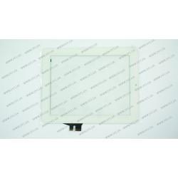Тачскрин (сенсорное стекло) для Ainol Novo 8 Dream, HOTATOUCH C155196A1-DRFPC095T-V1.0, 8, внешний размер 195*155 мм, рабочая часть 163*122 мм, белый