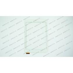 Тачскрин (сенсорное стекло) для Pixus Play Seven v1.0, LT80028A0, 8, внешний размер 197*132 мм, рабочий размер 160*121 мм, белый