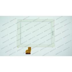 Тачскрин (сенсорное стекло) для Archos 80 Xenon, OPD-TPC0050, 8, внешний размер 197*148 мм, рабочий размер 162*122 мм, белый