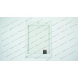 Тачскрин (сенсорное стекло) C196131A1-FPC720DR, 7,85, внешний размер 197*132 мм, рабочий размер 160*120 мм, 40pin, белый