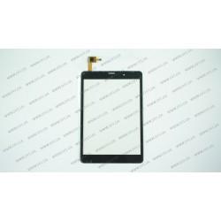 Тачскрин (сенсорное стекло) для Bravis 3G Slim, F-WGJ78094-V2, 7,85, размер 197x133 мм, 6 pin, черный