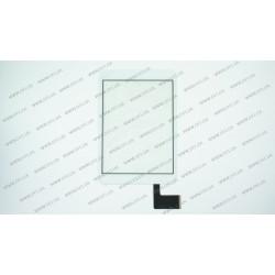 Тачскрин (сенсорное стекло) HS1279 V290,  7,9 , внешний размер 196*131 мм, рабочий размер 161*121 мм, 45pin, белый