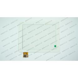 Тачскрин (сенсорное стекло) CTP060076-03A, 8, внешний размер 197*150 мм, рабочая часть 163*123 мм, белый