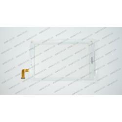 Тачскрин (сенсорное стекло) для планшета CN069FPC-V0, 8, внешний размер 204*120 мм, рабочий размер 174*110 мм, 50 pin, белый