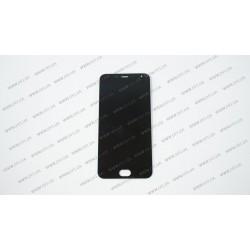 Модуль матрица+тачскрин для Meizu M2 Mini, black