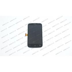 Модуль матрица+тачскрин для HTC Desire C, black