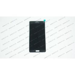 Модуль матрица + тачскрин  для Samsung Galaxy Note 4 (N910H), black