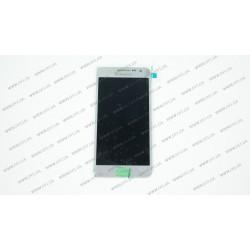 Модуль матрица+тачскрин  для Samsung Galaxy A3 (A300H/DS), silver