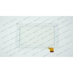 Тачскрин (сенсорное стекло) VTC5070A83-FPC-2.0, 7, внешний размер 186*104 мм, рабочий размер 155*87 мм, 30 pin, белый