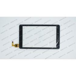 Тачскрин (сенсорное стекло) XC-GG0700-032, 7, внешний размер 181*108 мм, рабочий размер 152*95 мм, черный