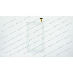 Тачскрин (сенсорное стекло) YLD-CCG7052-FPC-A0 (ВЕРСИЯ 1, менее закругленны углы) , 7, внешний размер 188*104 мм, рабочий размер 155*86 мм, 30pin, белый