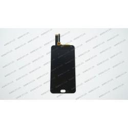 Модуль матрица + тачскрин для Meizu M2 Note, black