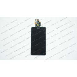 Модуль матрица + тачскрин  для LG Optimus G E975, black