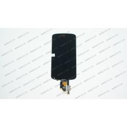 Модуль матрица + тачскрин  для LG Google Nexus 4 E960, black