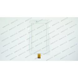 Тачскрин (сенсорное стекло) YLD-CG0047-FPC-A1, 7, внешний размер 184*104 мм, рабочая часть 155*86 мм, 30pin, белый