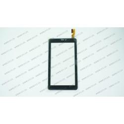 Тачскрин (сенсорное стекло) OPD-TPC0213 FPC (ВАРИАНТ 1), 7, внешний размер 186*113 мм, рабочий размер 155*87 мм, 30 pin, черный