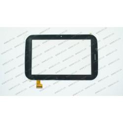 Тачскрин (сенсорное стекло) YDT1206-A2, 7,  внешний размер 187*118 мм, рабочий размер 154*91 мм, черный