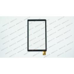 Тачскрин (сенсорное стекло) для Hyundai A7HD, TPC0100 VER3.0, 7, внешний размер 170*100 мм, рабочий размер 154*90 мм, 30 pin, черный