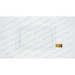 Тачскрин (сенсорное стекло) XN1318V1, 7, внешний размер 184*104 мм, рабочий размер 155*87 мм, 30pin, белый