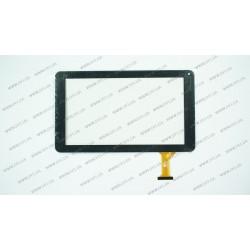 Тачскрин (сенсорное стекло) для HOOZO Z91-C, GT90PH90H FHX, 9, внешний размер 234*136 мм, рабочий размер 197*112 мм, 50 pin, черный
