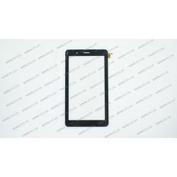 Тачскрин (сенсорное стекло) для VOYO X6, LT70039A1_FPC, 7, внешний размер 187*104 мм, рабочий размер 155*87 мм, 39 pin, черный