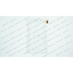 Тачскрин (сенсорное стекло) для Globex GU708C BT, LT70039E1_FPC, 7, внешний размер 187*104 мм, рабочий размер 155*87 мм, 39pin, белый