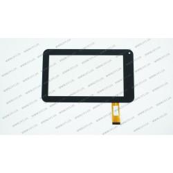 Тачскрин (сенсорное стекло) для Nano Tab NT7081, WJ-Z7Z35-V2, 7, внешний размер 189*112 мм, рабочий размер 155*86 мм, 30 pin, черный