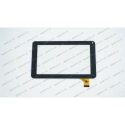 Тачскрин (сенсорное стекло) MF-309-070F-G, 7, внешний размер 186*111 мм, рабочий размер 155*86 мм, 30 pin, черный