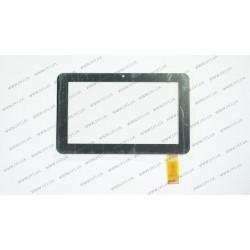 Тачскрин (сенсорное стекло) для DNS AirTab E71, MT70223-V1, 7, 30 pin, черный