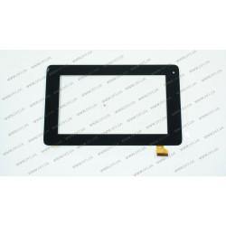 Тачскрин (сенсорное стекло) для Teclast P76h, PINGBO PB70A8599 KDX, 7, внешний размер 194*118мм, рабочая часть154*86 мм, черный