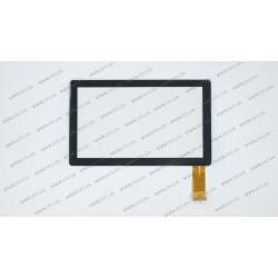 Тачскрин (сенсорное стекло) 1312-Q8-1.0 , 7, размер внешний 173*105 мм, рабочая часть 153*87 мм, 30 pin, черный
