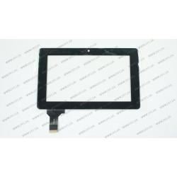 Тачскрин (сенсорное стекло) CG7069_3061A, 7, внешний размер 188*116 мм, внутренний размер 155*91 мм, 36 pin, черный