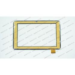 Тачскрин (сенсорное стекло) для Yuandao Window N70, PINGBO PB70DR8365-R1, 7, внешний размер 188*116 мм, рабочая область 154*90 мм, черный
