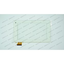 Тачскрин (сенсорное стекло) PINGBO PB70DR8173, 7,  внешний размер 192х113мм, рабочая часть 153х90мм, 50 pin, белый