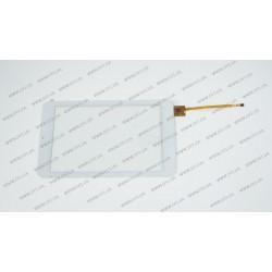 Тачскрин (сенсорное стекло) для Digma iDsQ7, QSD E-C7080-01, 7,  внешний размер 186*111 мм, рабочий размер 151*95 мм, 6 pin, белый
