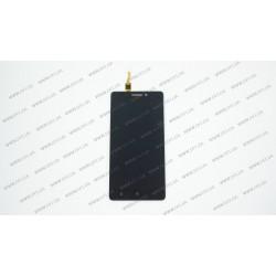 Модуль матрица+тачскрин для Lenovo A7000, black