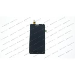 Модуль матрица+тачскрин для Lenovo S580, black