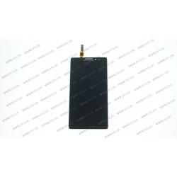 Модуль матрица + тачскрин для Lenovo Vibe Z (K910), black