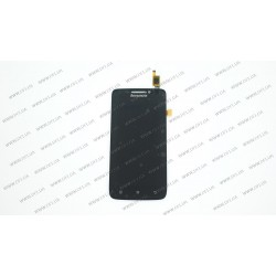 Модуль матрица+тачскрин для Lenovo S650, black