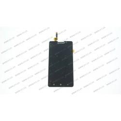 Модуль матрица + тачскрин для Lenovo P780, deep black
