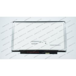 Матрица 13.3 B133XTN02.1 (1366*768, 30pin(eDP), LED, SLIM(планки по бокам), матовая, разъем справа внизу) для ноутбука