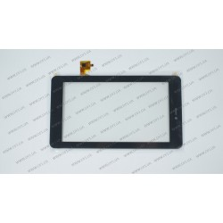 Тачскрин (сенсорное стекло) для Digma Optima 7.2 3G, TPC-51120 v2.0, 7, внешний размер 190*106 мм, рабочий размер 154*87 мм, черный