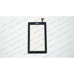 Тачскрин (сенсорное стекло) для Lenovo 3 TB3-710F, 07.0, черный