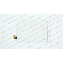 Тачскрин (сенсорное стекло) CTP078047-05, 7,85, внешний размер 198*133 мм, рабочий размер 160*120 мм, 10pin, белый
