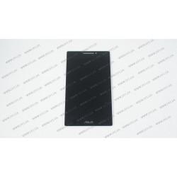 Тачскрин (сенсорное стекло) + матрица для Asus ZenPad Z370, 07.0, черный