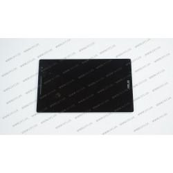 Тачскрин (сенсорное стекло) + матрица для Asus ZenPad Z380, 08.0, черный