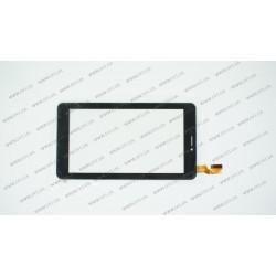 Тачскрин (сенсорное стекло) для Explay ActiveD 7.2, AD-C-701749-FPC, 7, 30 pin, внешний размер 187*113 мм, рабочий размер 155*87 мм, черный