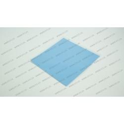 Термопрокладка силиконовая (100*100*1.00mm, 4.0 w/m-K) для ноутбуков (синяя)